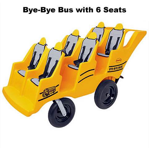 Bye-Bye Bus with 6 Seats